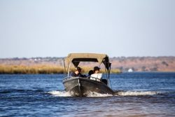 Safari Club Region - Botswana Chobe River boat