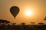 Safari Club - Tanzania ballooning