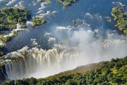 Safari Club Region - Zimbabwe Victoria Falls Arial View
