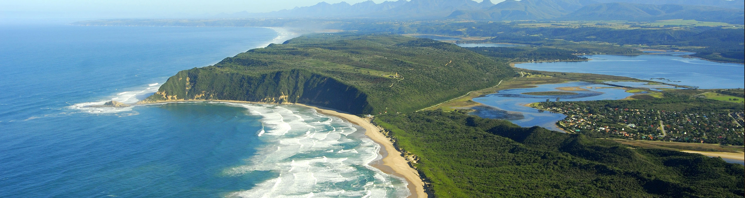 Safari Club - South_Africa_Sedgefield_Garden_Route_Ariel
