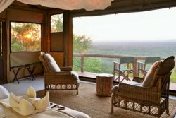 Safari Club Entry Accommodation - Ghoha_Hills_Savute_Lodge_bedroom_view