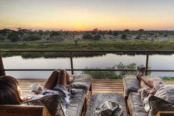Safari Club Entry Accommodation - Leroo_La_Tau_Deck_View