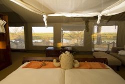 Safari Club Entry Accommodation - Linyanti_Bush_Camp_interior_tent