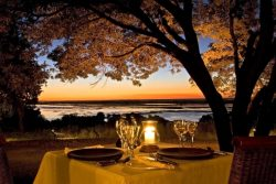 Safari Club Premium Accommodation - Sanctuary_Chobe_Chilwero_Lodge_Romantic_Dinning