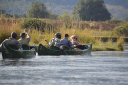 Safari Club Photos - Canoeing the Zambezi