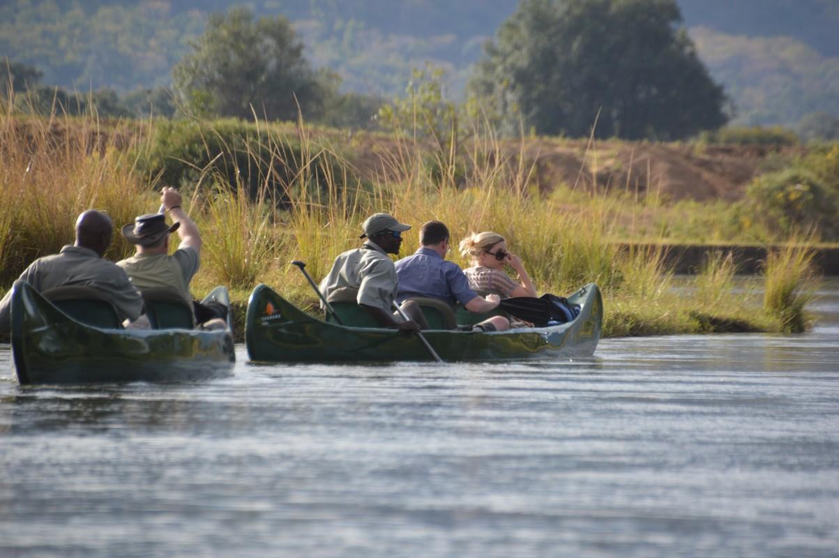 Canoeing the Zambezi