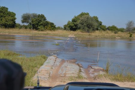 Kapamba River Crossing South Luangwa