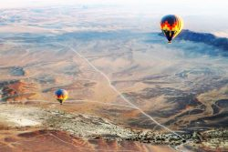 Safari Club Photos - namib-hot-air-balloon