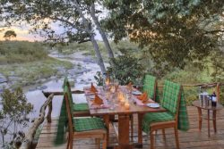 Safari Club Premium Accommodation - rekero-dinner-by-the-river