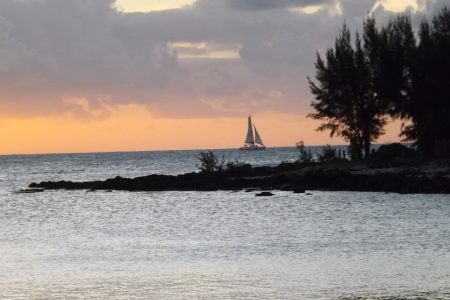 Sunset over Grand Bay