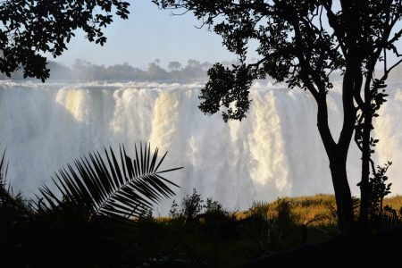 Safari Club - Victoria Falls in spate