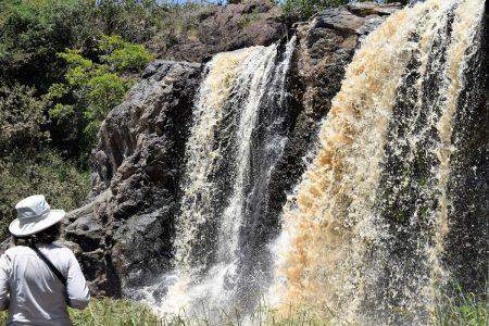 Waterfall Laikipia Plateau