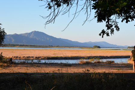 Zambezi River view from Expeditions Camp
