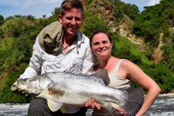 Safari Club - Nile perch catch and release Murchison Falls
